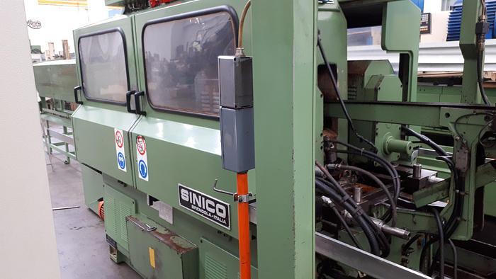 Usata Centratrice di taglio con taglio SINICO TR60-4-350