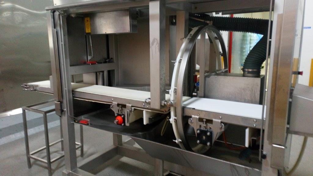 Portion cutter Marel/Scanvaegt B35