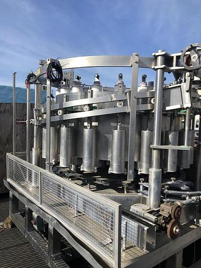 Used 2002 Zilli & Bellini 20 Valve Rotary Piston Filler