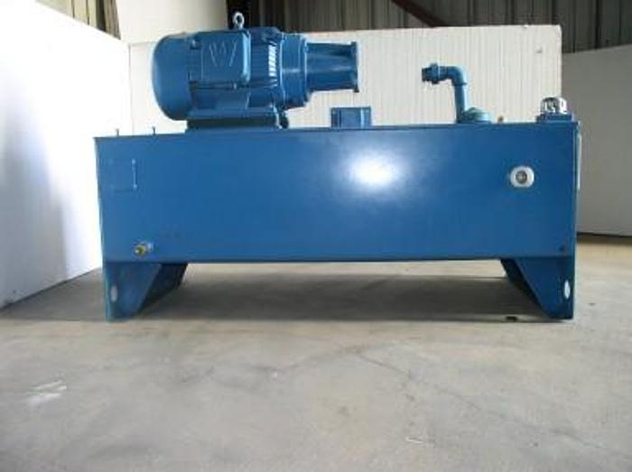 Used 20 HP Motion Industries Hydraulic Power Unit; No Pump