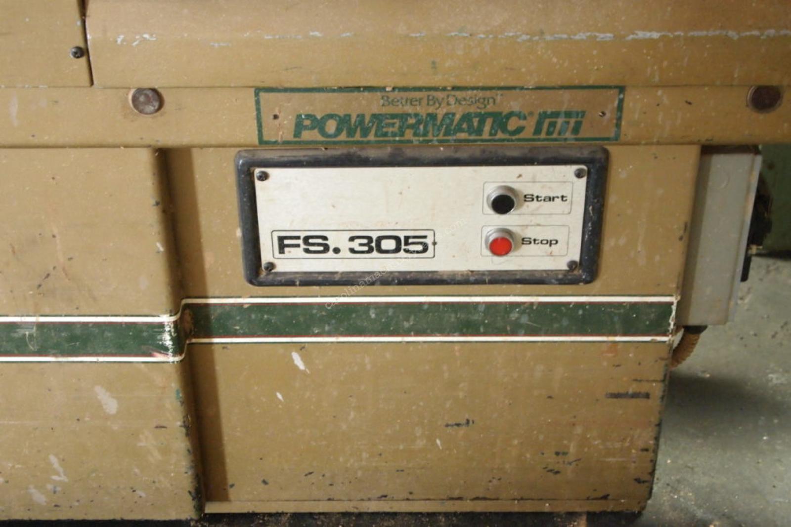 """Powermatic 12"""" Jointer"""