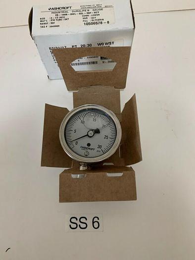 BRAND NEW ASHCROFT 25-1009-SWL-02