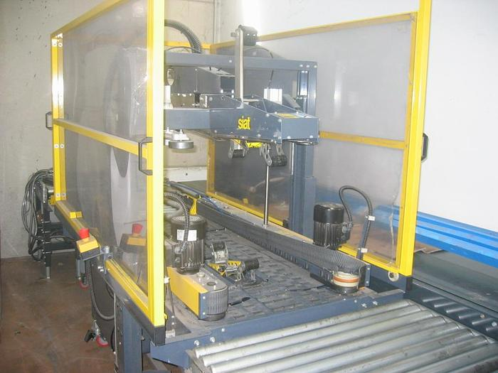 Used SIAT SM44 Type A – AUTOMATIC CASE SEALING MACHINE year 2000