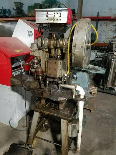 Used Lundwall Double Action Transfer Press 20 ton Stamping Punch Press