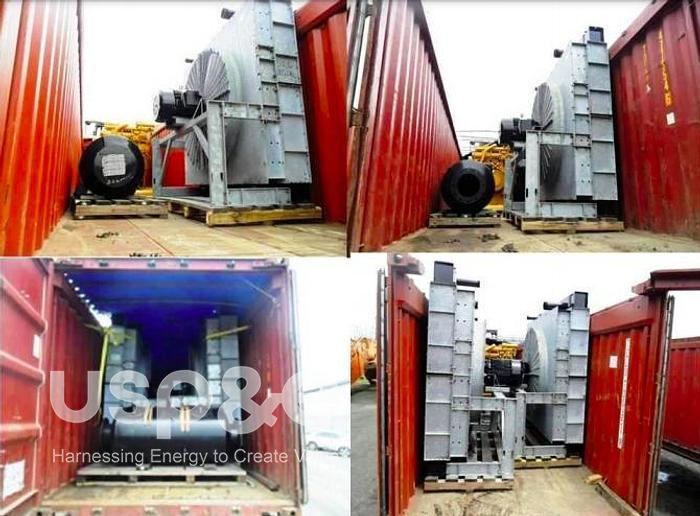 1.2 MW New 2009 Caterpillar 3512B Natural Gas Marine Generator