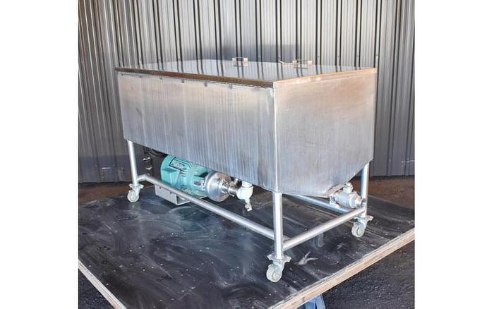 USED 150 GALLON CLEAN OUT OF PLACE ''COP'' SYSTEM, STAINLESS STEEL