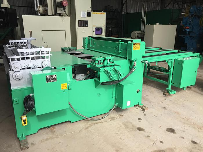 60 in. x 14 ga. Engel Cut-To-Length Line with Notching Station