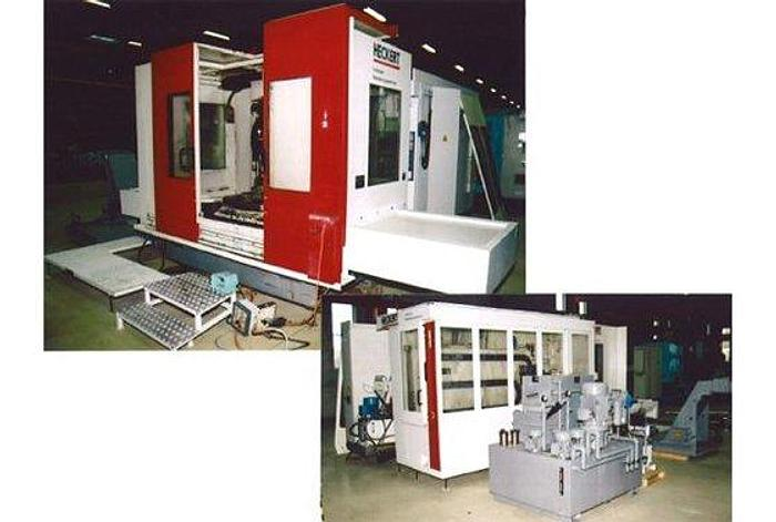 1996 HECKERT 5-axl. CWK800 Horizontal Machining Centers