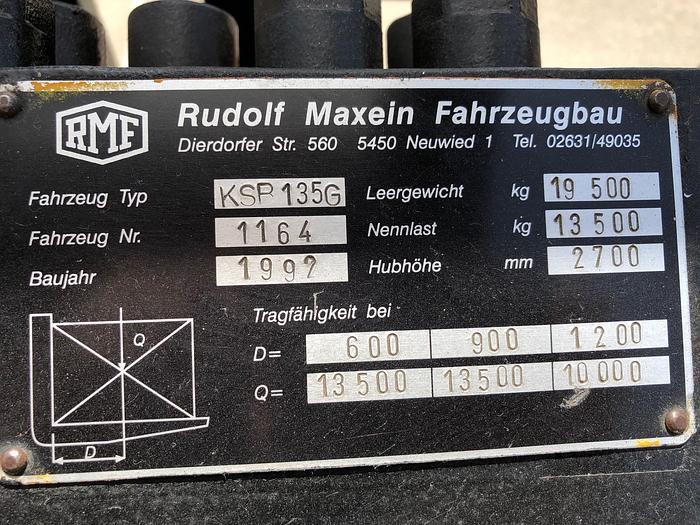 1992 RMF KSB 135G