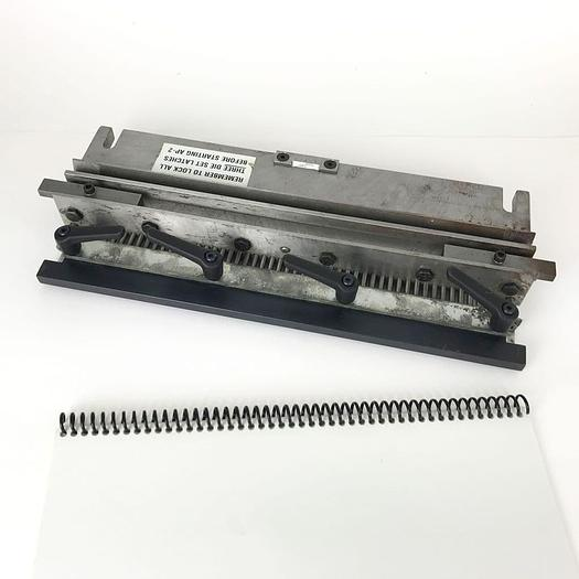 Used Pre-Used GBC AP2 Coil / Spiral Round-Hole Punch Tool Die