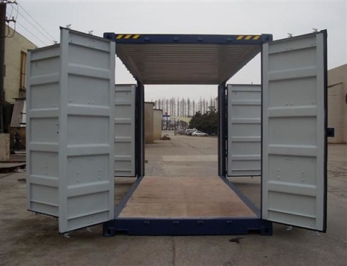 """20 'Container 9'6 """"All Sides Open"""