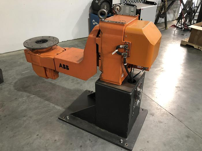 ABB IRB 2600 12 KG X 1.85 METER WELDING CELL WITH ABB IRBP A-750 POSITIONER AND IRC 5 CONTROLLER NEW 2011