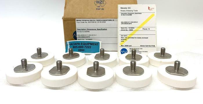 Meister Abrasives 62A-220X-H-7-130-V213-1 2/90-00629-0076 Grinding Wheels (8860)