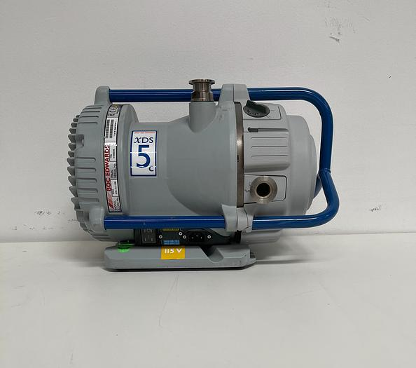 Used Boc Edwards XDS5C Dry Scroll Vacuum Pump  w/ Only 553 Hours