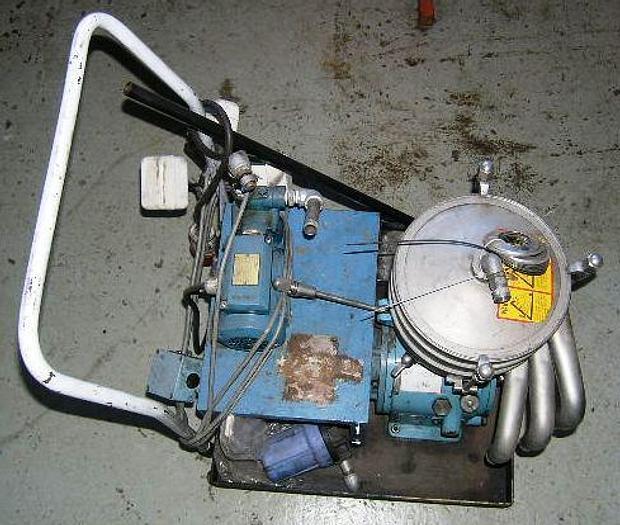 Used Alfa Laval WSB 103B-74 separator module