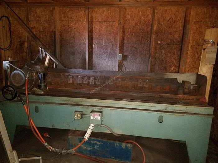 "Used Hanchett 84"" Knife Grinder"