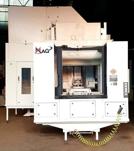 MAG SPECHT 500 + 5X HORIZONTAL MACHINING CENTER (5 Axis) (2011)