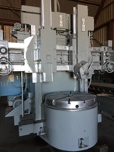 "56"" King Vertical Turret Lathe"