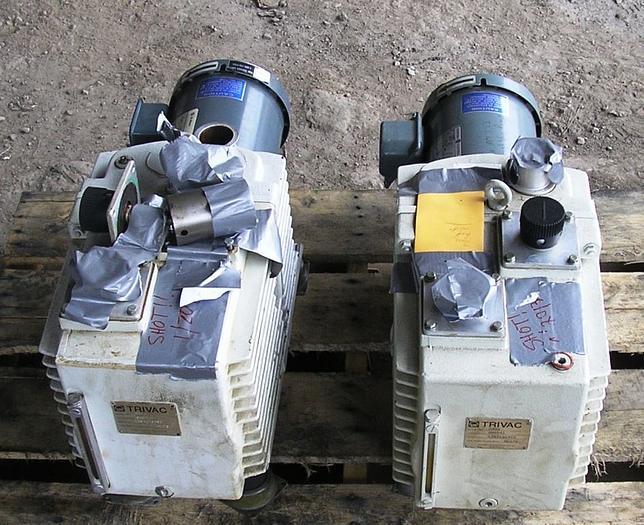 Leybold Hereaus Trivac Pumps: D30 A