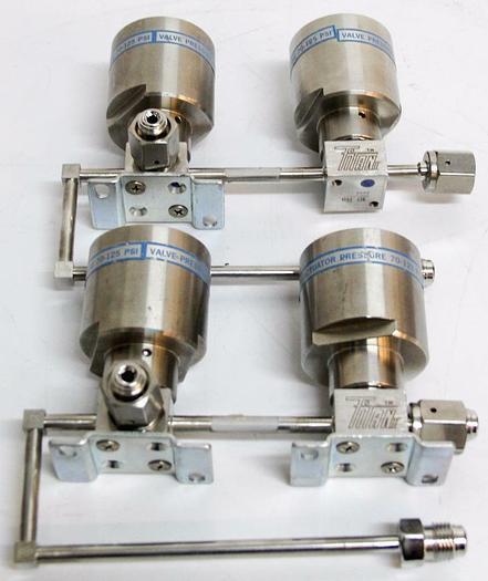 Used Parker Titan II Diaphragm Valve 032-1513-B UHP LPI LPV 300PSI Lot of 2 (4432)