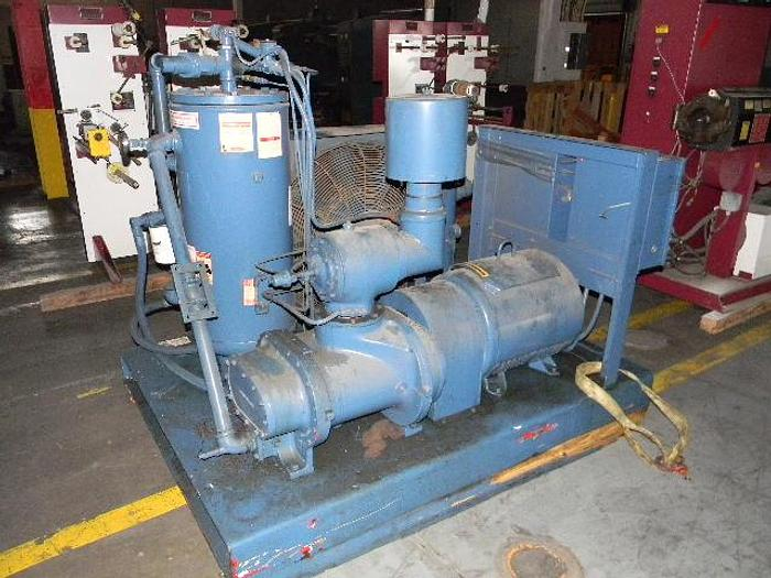 Used 75HP Scales Rotary Air Compressor, Model RMA75, S/N 5738, 480 Volts, 3 Phase, 60HZ