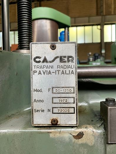 Trapano radiale CASER F 50/1250