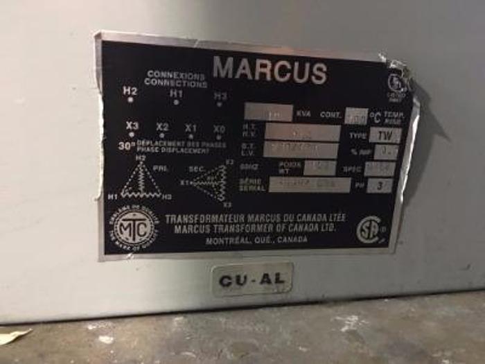 Marcus 600v Transformer (230v/133v)