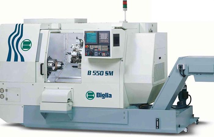Usata Tornio CNC BIGLIA - B 550 SM