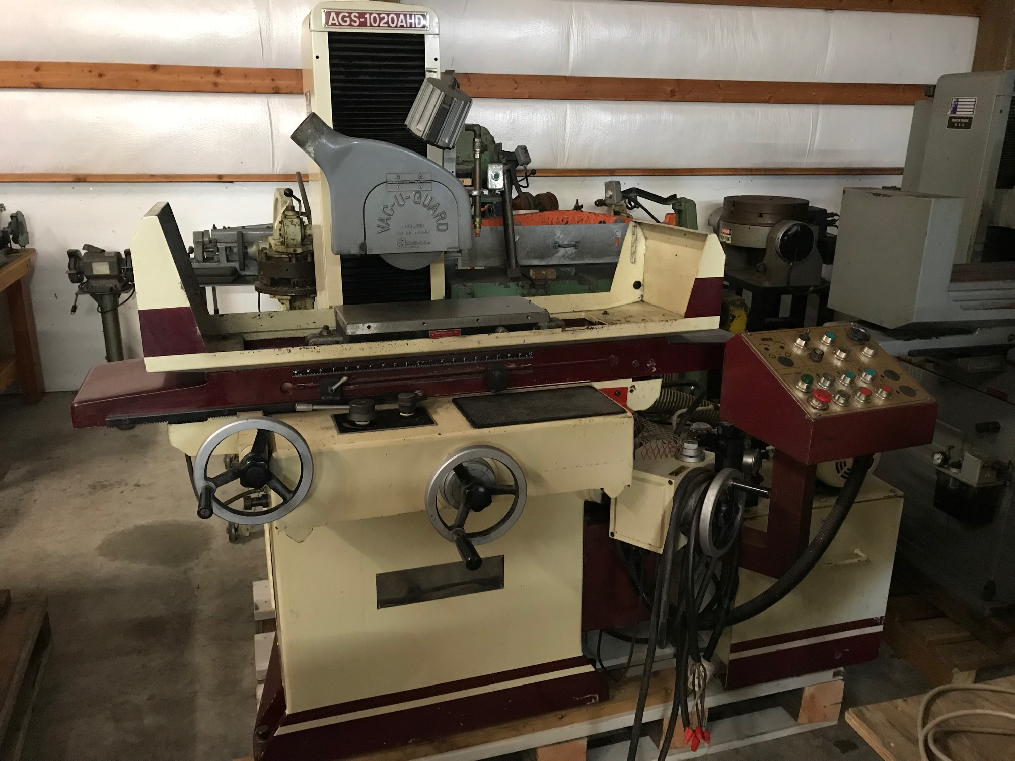 1992 Acer 1020 AHD Surface Grinder #1652