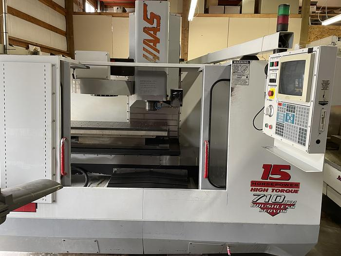 Used 1997 Haas VF4 Machining Center with Midaco Pallet Shuttle