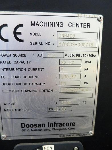 2011 Doosan  DNM400