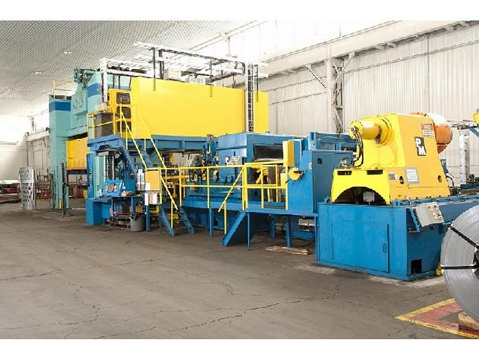 "500 ton Verson 186""x108"" Blanking Press"