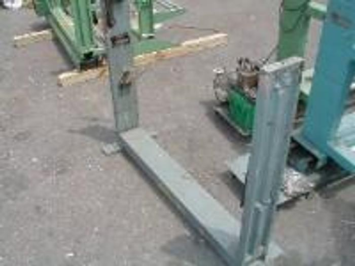 """Used 36"""" Sheldahl two position unwind stand."""