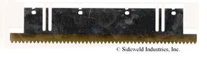Serrating Blade – 40 Tooth – Unslotted – Coated