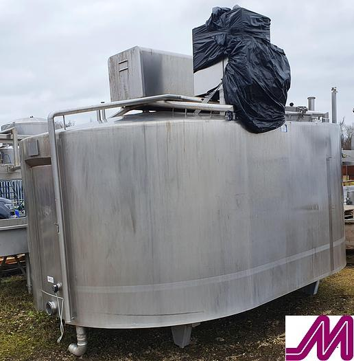 Used Damrow Double O Stainless Steel Cheese Vat Capacity 10,000 Litres