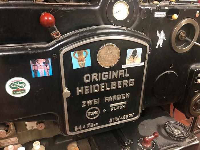 Použitý Heidelberg Cylinder 54x72