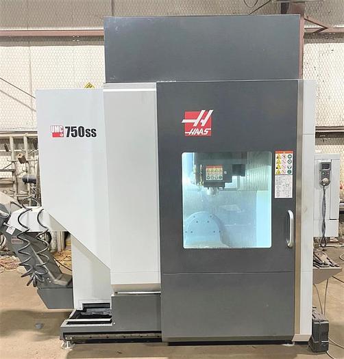Used 2018 Haas UMC-750 SS