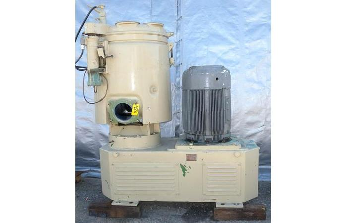USED WELEX HIGH INTENSITY MIXER, 500 LITER CAPACITY