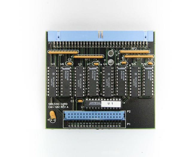 Used Sierratherm CAI-102 Rev A SBX3210 Interface Card (5452)