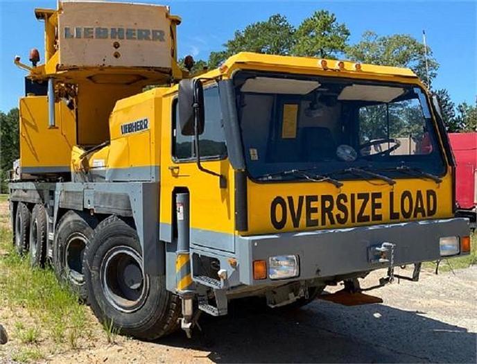 Used 2000 LIEBHERR LTM1090-2