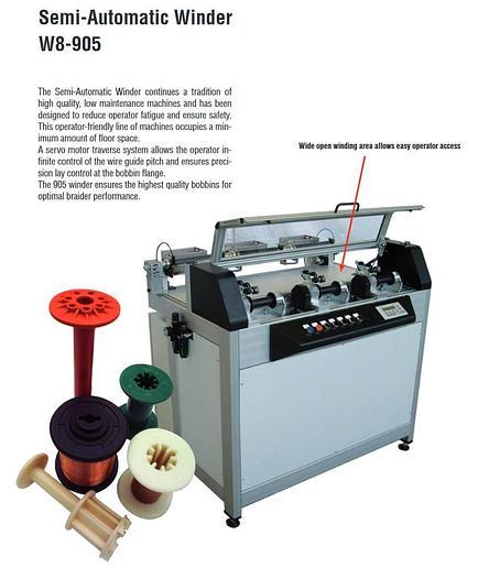Spirka Schnellflechter Winding machines
