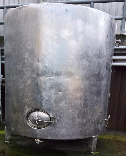 Used Stainless steel storage tank – 13.000 liter volume