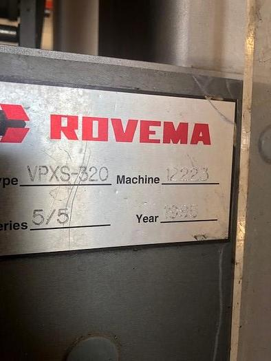 Rovema  VPXS-320 Form Fill & Seal Bagger