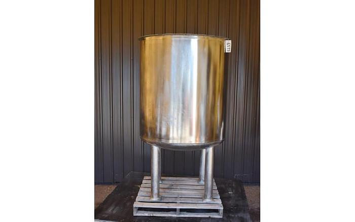 Used USED 275 GALLON TANK, STAINLESS STEEL