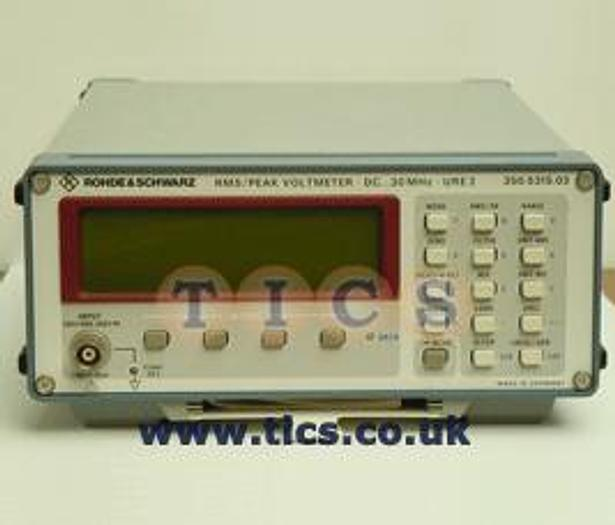 Used Rohde & Schwarz (R&S) R&S URE3