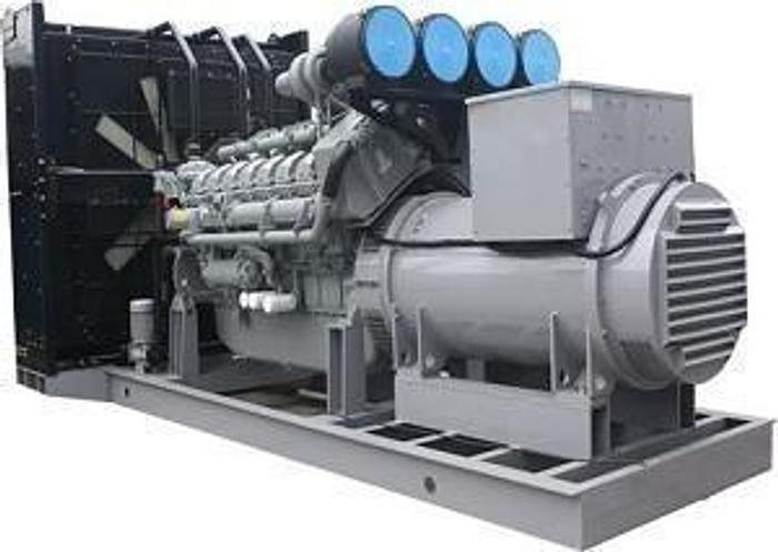 Used 1.6 MW 2007 Used Perkins 4016TAG2A Diesel Generator Set