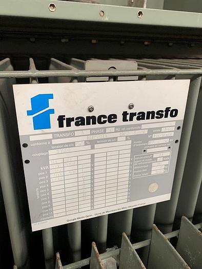 Used 1993 France Transfo KVA: 2000