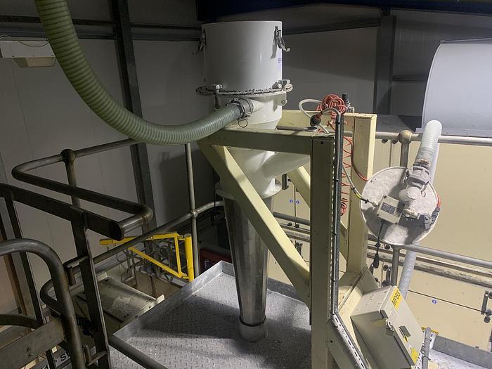 Used 2000 JENCO C13P Vacuum Conveyor System