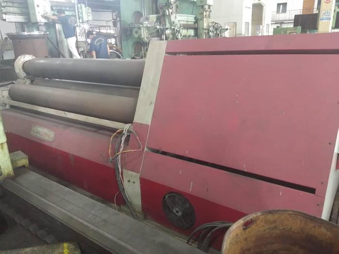 Used 2007 AK BEND AHS 300X2500 4 ROLL PLATE ROLLS MACHINE