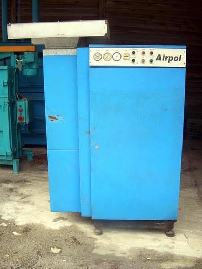 Używane Śrubowa sprężarka powietrza Airpol